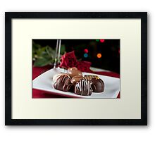 Gourmet Chocolates Framed Print