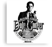 Dale Cooper - Twin Peaks Canvas Print