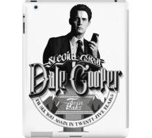 Dale Cooper - Twin Peaks iPad Case/Skin