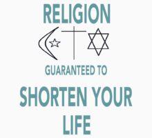 Religion Shortens Your Life by FlyingAtheist