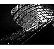 Underground Escalators- London  Photographic Print