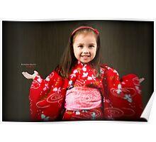 Kimono Girl Poster