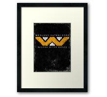 Weyland Yutani - Grunge Framed Print