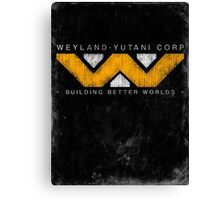 Weyland Yutani - Grunge Canvas Print