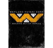 Weyland Yutani - Grunge Photographic Print
