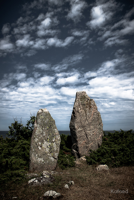 Stone Monuments by Kofoed