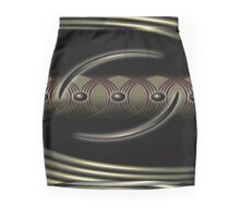 yin yang Mini Skirt