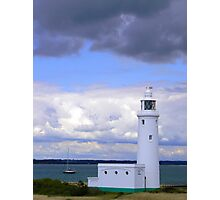 Hurst Lighthouse Photographic Print