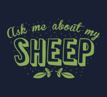 Ask me about my SHEEP Baby Tee