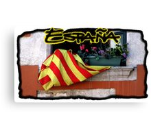 Espana Postcard Canvas Print