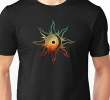 Galaxy Sun and Moon Unisex T-Shirt