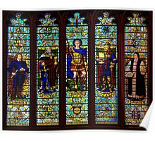 A Stained Glass Window  Poster