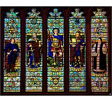 A Stained Glass Window  Photographic Print