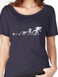 Alien Evolution Women's Relaxed Fit T-Shirt