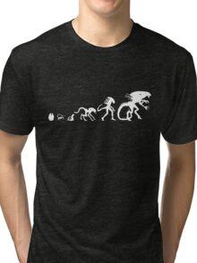 Alien Evolution Tri-blend T-Shirt