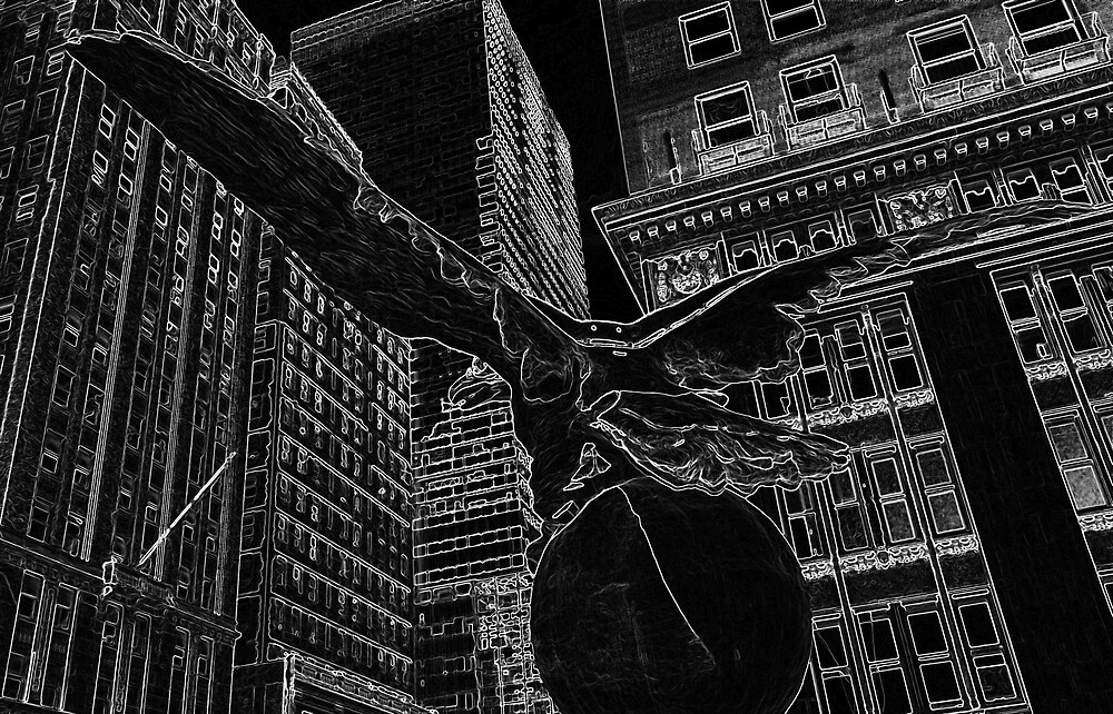 The Eagel at Grand Central Terminal by photographist