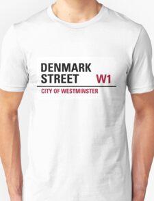 Denmark Street London Road Sign Unisex T-Shirt