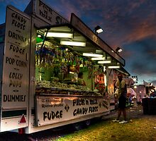 Fudge, Candyfloss & Popcorn by Rob Hawkins