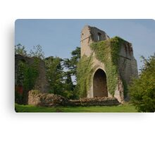 St Mary The Virgin and The Holy Rood, Little Chart Canvas Print