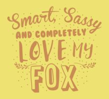 Smart, Sassy and completely love my FOX Baby Tee