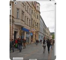 City life in Sarajevo iPad Case/Skin