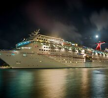 "Carnival ""Fascination"" in Nassau Bahamas by Gary & Marylee Pope"