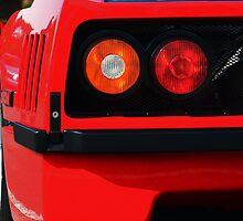 Ferrari F40 - Cars and Coffee Franklin,TN 9-3-11 by Daniel  Oyvetsky