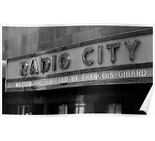 Radio City, NYC  Poster