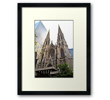 St. Patrick's Cathedral, New York City  Framed Print