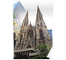 St. Patrick's Cathedral, New York City  Poster