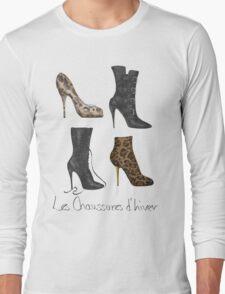 Les Chaussures d'hiver Long Sleeve T-Shirt