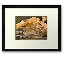 Sheets - Original Oil Painting Framed Print