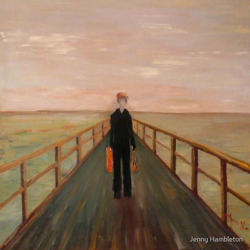Arrival - Original Oil Painting by Jenny Hambleton