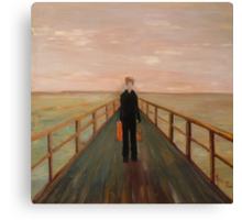 Arrival - Original Oil Painting Canvas Print