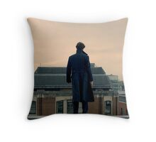 Sherlock Falls Throw Pillow