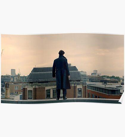 Sherlock Falls Poster