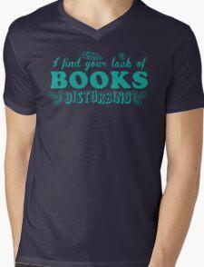 I find your lack of books disturbing Mens V-Neck T-Shirt