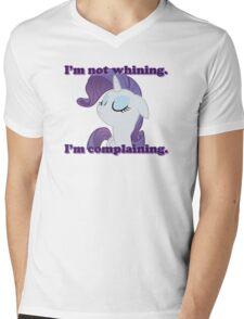 I'm not whining.  I'm complaining. Mens V-Neck T-Shirt