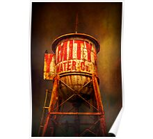 Water Tower Poster