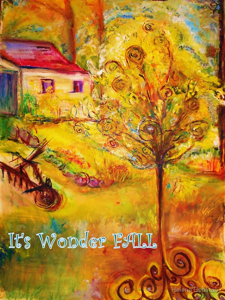 It's Wonder Fall by Helena Bebirian