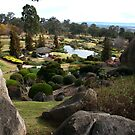 A spectacular Japanese Garden at Cowra, NSW.  by geof