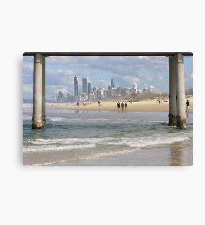 Surfers Paradise Skyline Canvas Print