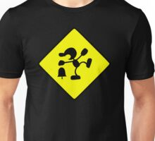 CAUTION: Game & Watch Unisex T-Shirt