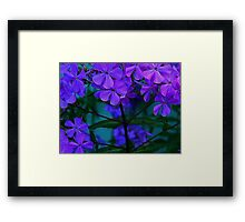 The Crowd ! Framed Print