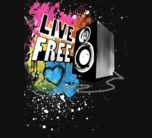 Live Free (Raw Black) Unisex T-Shirt