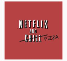 Netflix and Pizza One Piece - Long Sleeve