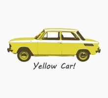 Yellow Car! Kids Tee