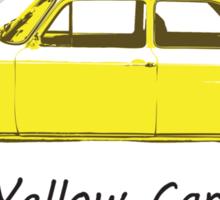 Yellow Car! Sticker