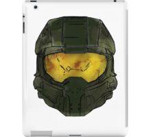 Master Chief Helmet Sketch iPad Case/Skin