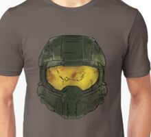 Master Chief Helmet Sketch Unisex T-Shirt